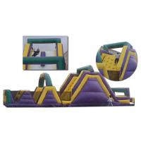 Wholesale 0.55mm PVC Outdoor Commercial Blow Up Inflatable Obstacle Courses For Adult YHOB 010 from china suppliers