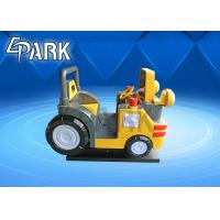 Wholesale Coin operated engineering car kiddie ride EPARK fiberglass toys Machine kids amusement swing ride from china suppliers