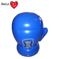 Wholesale Inflatable blue boxing glove for kids from china suppliers