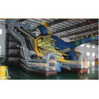 Quality inflatable  chameleon dinasour slide , inflatable dry slide ,giant inflatable slide for sale