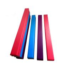 Wholesale Anti Crack Low Balance Beam , Fold Up Gymnastics Beam EVA Foam Material from china suppliers
