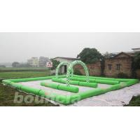 Wholesale Inflatable Zorb Ball Track , Zorb Orbit With 0.6mm PVC Tarpaulin from china suppliers