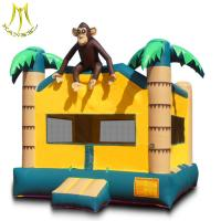 Wholesale Hansel outdoor amusement park for sale inflatable jumping trampoline bouncy castles from china suppliers