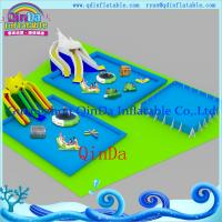 Buy cheap Moving Park with Slide, Inflatable Water Moving Park, Frame Park, Moble Park from wholesalers