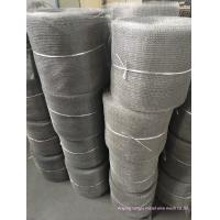 Wholesale 201 304 316 Stainless Steel Crimped Wire Mesh Compressed Knitted Irregular Hope Shape from china suppliers