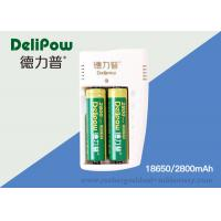 Wholesale Rechargeable 18650 Lithium Batteries 2800mah With Customized Capacity from china suppliers