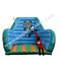 Wholesale Inflatable basketball shooting board,basketball hoop from china suppliers