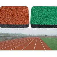 China Polyurethane Rubber Athletic Track , Sports Outdoor Running Track Surface on sale