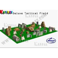 Wholesale 68 bunkers Deluxe Tactical Field 10 man,Inflatable paintball Bunker filed, KPB025 from china suppliers
