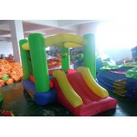 Wholesale Oxford fabric inflatable house small bounce for kids with slide from china suppliers