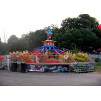 Quality Thrilling FRP Material Fun Park Rides , Amusement Park Jumping Machine for sale