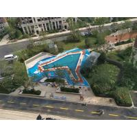 Wholesale Waterproof Pool Rubber Flooring Material Anti Static Chips Customized Colors from china suppliers