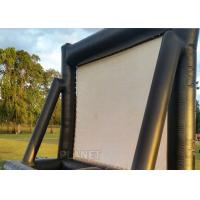 Quality Open Air Inflatable Movie Screen Double Stitching AC 110V / 220V Supply Voltage for sale
