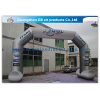 Wholesale 8 x 5m Grey Custom Inflatable Arch Full Color Printing for Sporting Events from china suppliers