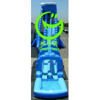 Wholesale giant inflatable water slide for sale with 24months warranty from GREAT TOYS from china suppliers