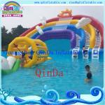 Guangzhou QinDa Inflatable Slide Inflatable Water Slide. Water Park. Water Pool