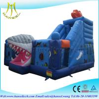 Wholesale Hansel baby pool with slide,large inflatable slides,buy bounce house wholesale from china suppliers