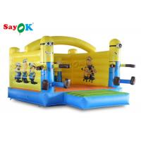 Wholesale Little Yellow Bouncy Castle Man PVC Tarpaulin For Outdoor Amusement from china suppliers