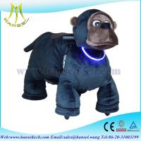 Wholesale Hansel animal battery car riding animals walking plush animal from china suppliers
