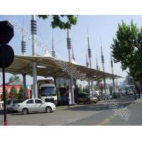 Wholesale Security Space Frame Steel Structure Truss Purlin of Toll Station from china suppliers