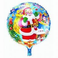 Wholesale 18-inch Christmas Inflatable Balloon, Made of PA and PE and AL, Customized Orders Accepted from china suppliers