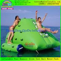 Wholesale Commercial Outdoor Inflatable Iceberg Water Toys For Lake / River / Swimming Pools from china suppliers