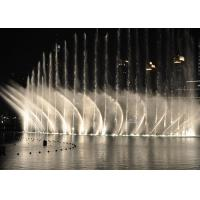 Quality Fascinating Musical Water Fountain Project , Dancing Pool Fountain OEM Design for sale