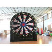 China Indoor Giant Inflatable Sports Games Inflatable Foot Darts 3 X 3.3m Digital Printing on sale