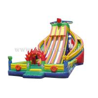 Wholesale best sale amusement park cheap inflatable water slides for sale from china suppliers