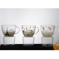 Wholesale Luxury borosilicate glass mug Pyrex Single Wall Glass Coffee Cup from china suppliers