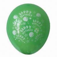 Wholesale Balloon for Promotions, Advertising, Size Ranges from 10- to 12-inch, CE and EN 71 Approved from china suppliers