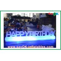 China Birthday Party Led Inflatable Lighting Decoration Customized on sale