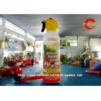 Commercial Advertising Inflatable Model Red Fire Extinguisher PVC