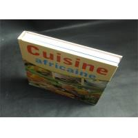 Wholesale Pantone Color CMYK Hardcover Saddle Stitch Book Printing 300gsm / 350gsm from china suppliers