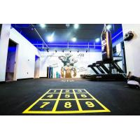 Wholesale Eco Friendly Rubber Gym Mats Anti Pressure Custom Color 400x400x20mm from china suppliers