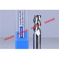 Wholesale 0.8um Grain Size Aluminum Cutting Tools , 3 Flute Carbide Milling Drill Bit from china suppliers