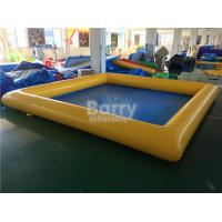 Wholesale PVC Tarpaulin Square Inflatable Swimming Pool For Kids / Adults from china suppliers