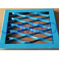 Wholesale Steel Flexible Architectural Expanded Metal Three Dimensional Panels With Frame from china suppliers