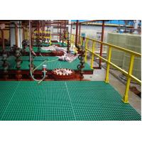 Wholesale Heavy Duty FRP Plastic Floor Grating For Work Platform Smooth Surface from china suppliers
