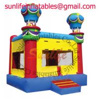 Wholesale inflatable 0.55mm pvc tarpaulin jumping castle BO040 from china suppliers