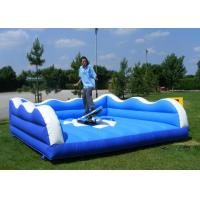 Wholesale Entertaining Inflatable Sports Toys Quadruple Stitching Surf Wave Simulator from china suppliers