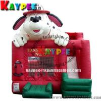 Wholesale Inflatable doggy combo,inflatable bouncer with slide KCB044 from china suppliers