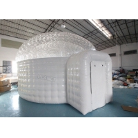 0.55mm Pvc Inflatable Igloo Tent For Outdoor Observe Stars