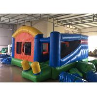 Wholesale Backyard Inflatable Bounce House Combo Kids Home Small Jumping House With Slide from china suppliers