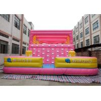 Wholesale Lovely Inflatable Interactive Games Blow Up Rock Climbing Wall For Kids from china suppliers