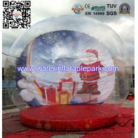 Wholesale Festival Christmas Snow Inflatable Bubble Ball Tent Clear Dome Tent , Portable from china suppliers