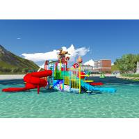 Wholesale Water Pool Toys Theme Park Concept Design Customized Aqua Playground With Dump Bucket from china suppliers