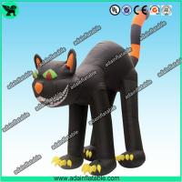 Wholesale Halloween Advertising Inflatable Cat, Halloween Decoration Inflatable Cat from china suppliers