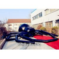 Wholesale Super Black Inflatable Spider for Halloween Party, Concert, Stage and Buildings from china suppliers