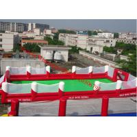 China inflatable football pitch inflatable football field inflatable football field for sale on sale